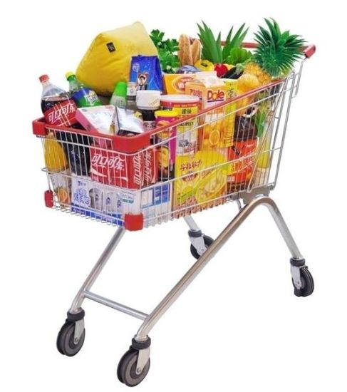 Supermarket-Shopping-Cart-American-Type